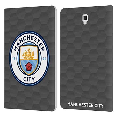 Official Manchester City Man City FC Home Goalkeeper 2020/21 Badge Kit Leather Book Wallet Case Cover Compatible For Galaxy Tab S4 10.5 (2018)