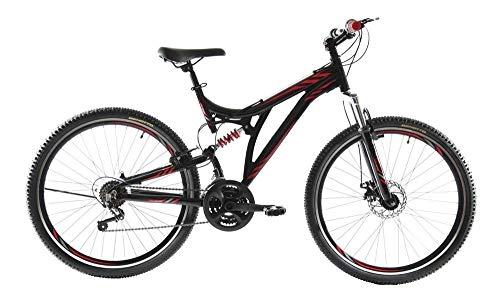 Benotto Bicicleta MTB Ds-500 R27.5 21v Aluminio Doble Suspen – Negro