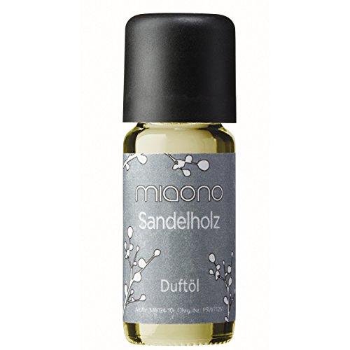 Duftöl Sandelholz - feiner Sandalwood Raumduft - Aromaöl für Duftlampe und Diffuser