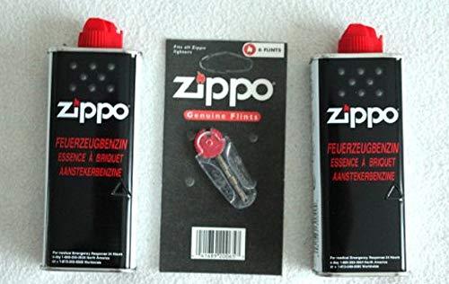 2x Orginal Zippo Benzin und 1x Feuersteine/Flints 6 Stück