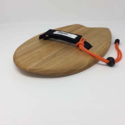 "Handboard Bodysurf Colibrí 12"" Strap Black"