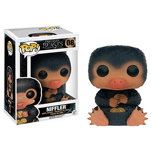 Lxyy YF Pop Collectible: Fantastic Beasts - Niffler Action Figure Toys #08 PVC Model (with Box) for Kids 3.9Inch