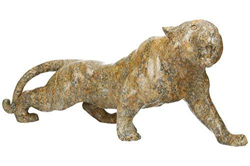 Tiger - Jaspe de leopardo (45 x 17 x 12 cm)