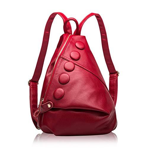 Backpack Womens Fashion Rucksack Casual PU Leather Waterproof Backpacks Ladies Daypack Shoulder Bags