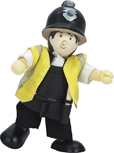 Le Toy Van BK703 Budkins Policier Policier P.C. Hanson Flexible Doll