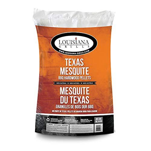 Louisiana Grills Texas Mesquite 55408 Pellets, 40-Pound