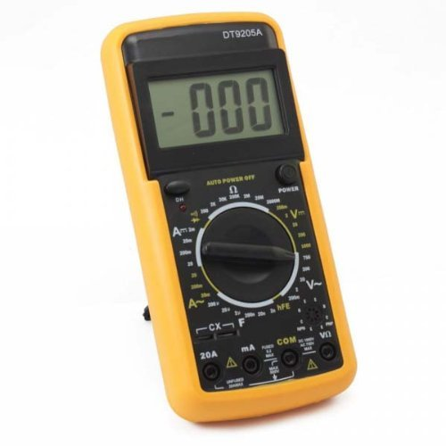 HUKITECH Digitales Messgerät Multimeter - DT9205A