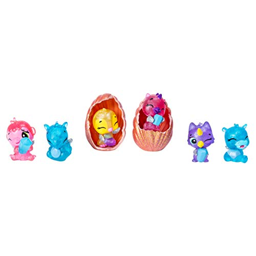 Hatchimals 6046155 Colleggtibles Series 5 Sea Shell, Mixed Colours, Pack of 6