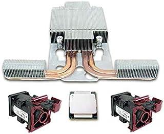 مجموعة HP 719052-B21 HP Xeon E5-2609v3 لـ DL380 G9 1.9GHz، مجموعة معالجة كاملة من 6 رؤوس، أحبار حرارية، مروحة حرارية (فضي)