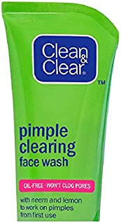 Clean & Clear Pimple Clearing Face Wash, 40g