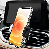 Car Phone Mount, Amoner Air Vent Phone Holder with Adjustable Clip Compatible with iPhone 12/12 Pro/11 Pro/XR/XS/8 Plus/7/6s/6, Galaxy S20/S10/S9, Note 20/10 & more