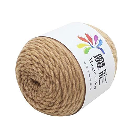 Wolle Neue Wollkugeln 5 Stränge von Regenbogen Baumwolle Häkeln DIY Pullover Schal Linie Baumwolle Wollfaden Strickwerkzeug für Familienamper; Liebhaber Amp; Xs wolle zum stricken ( Color : V )