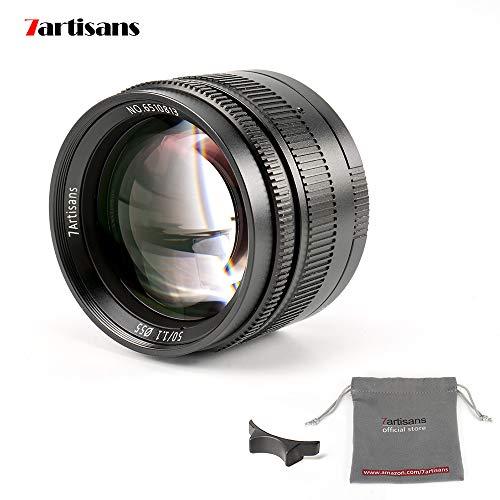 7artans - Lente fija de 50 mm F1.1 Leica M para cámaras Leica M-Mount como Leica M-M Leica M240 Leica M3 Leica M6 Leica M7 Leica M8 Leica M9 Leica M9p Leica M10, color negro
