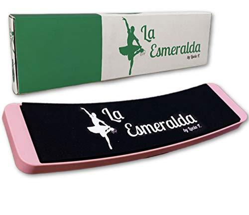 La Esmeralda Ballet Turning Board for Dancers-Figure Skating Ballet Dance Turning Pirouette Board, Training Equipment for Dancer, Ice Skaters.