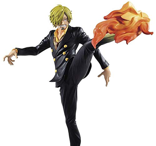 Estatua Sanji 21 cm, One Piece, Banpresto BP81847...