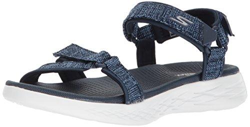 Skechers Damen Sandalen ON The GO 600 Radiant Blau, Schuhgröße:EUR 40