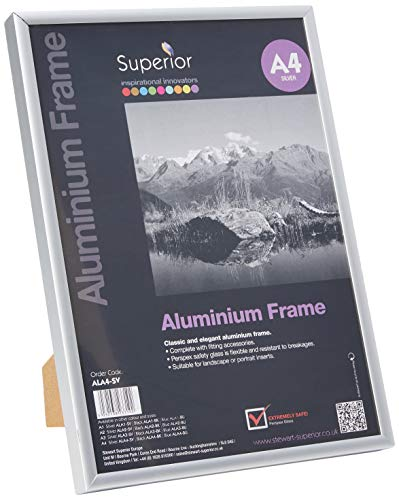 SECO Picture Frame, Metall, Silver, 1