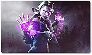 Liliana - Board Game MTG Playmat Table Mat Games Size 60X35 cm Mousepad Play Mat for Yugioh Magic The Gathering