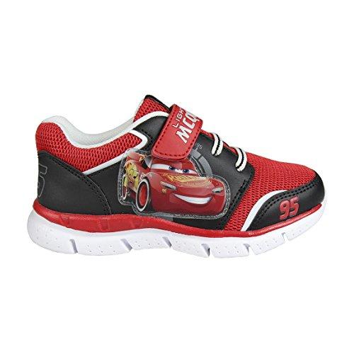 Cars Jungen Deportivas UltraLigeras Sneaker, Rot (Rojo C06), 25 EU