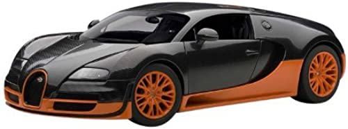 Autoart 1 18 Bugatti Veyron Super Sport (Carbon schwarz   Orange) by AUTOart