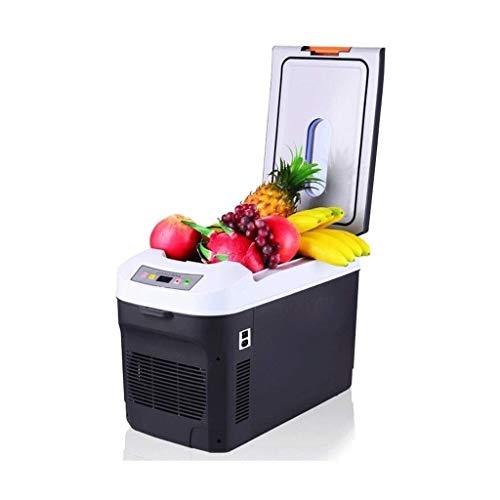 UNU_YAN Nevera portátil de Coches, Coches de 25 litros Congelador, Temperatura Dual eléctrico de refrigeración for Las Partes, los Viajes, Picnic al Aire Libre, Camping y de Uso doméstico