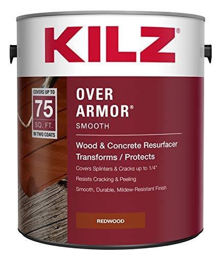 Best for Deck Restoration: KILZ Over Armor Smooth