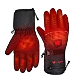WOMIR Heated Motorcycle Gloves for Women Men, Rechargeable...