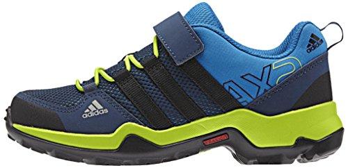 adidas Unisex Kinder AX2 CF K Fitnessschuhe, Blau, Schwarz, Grün, Azuimp Negbas Seliso, 36.5 EU