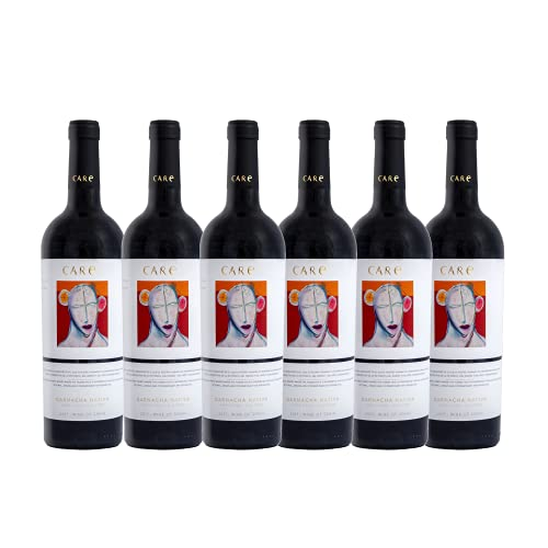 Care Garnacha Nativa - 100% Uva Garnacha - Vino tinto - Caja de 6 botellas de75 cl