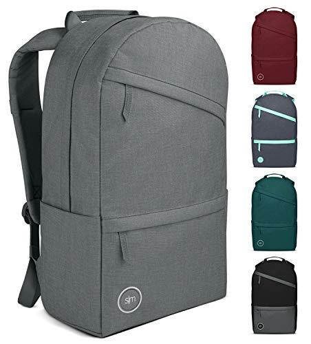 Simple Modern Legacy Zaino Donna, Uomo, o Bambini con Tasca per laptop - per Scuola, Lavoro, Escursioni o Viaggi - Porta PC o Borsa Zaino Donna -Ardesia