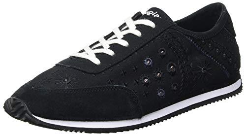 Desigual Shoes_Royal_Exotic, Sneakers Mujer, Black, 39 EU