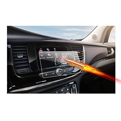 RUIYA Protector de Pantalla de Vidrio Templado para (2016) (2017) (2018) Opel Mokka X SUV IntelliLink R4.0 Sistema de navegación,Crystal Clear HD película Protectora-7 Pulgadas