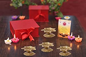 This product is used for lighting lamp using the cotton wicks. It is an integral custom or tradition to start all the auspicious events by lighting the lamp to create a spiritual atmosphere. This is a beautiful essence of festival in your room by pla...