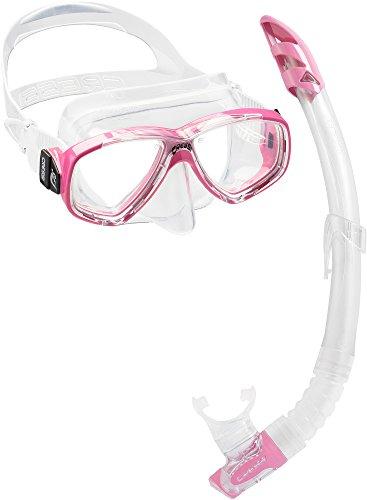 Cressi Combo Set Perla Conjunto Combinado de máscara de Buceo y Snorkel, Unisex Adulto