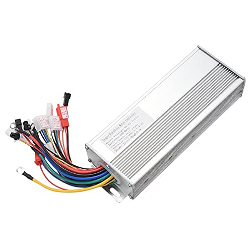 Midream 48V 60V 64V 1500W Brushless Controller/Ebike Controller/Bldc Motor Controller for Electric Bicycle/Scooter Silver