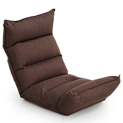 LOWYA (ロウヤ) 座椅子 座いす 全面低反発 42段ギア 背面・ヘッド・フット3ポイント可動 リクライニング ...