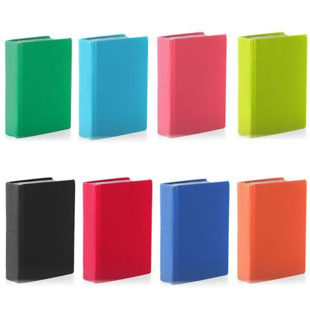 Stretchable Jumbo Book Cover ~ Set of 3 Assorted