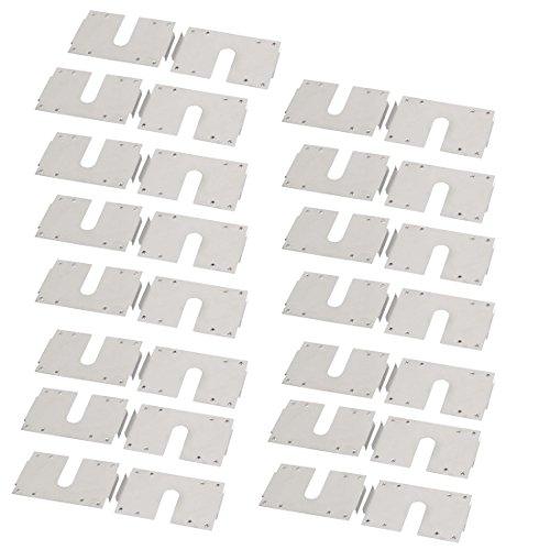 sourcing map 30Stk hängenden Leitfähige Erdung Solar Photovoltaik Blech Edelstahl de