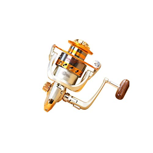 Rueda giratoria de descarga frontal de la cabeza completa del metal balancín de la rueda de pesca...
