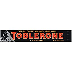 Toblerone Dark Chocolate Bar, 3.52 Ounce