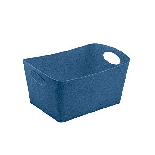 Boxxx Boîte de rangement Bleu foncé 29,7 x 20,3 x 15 cm
