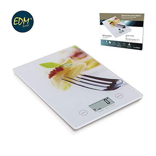 Digitale keukenweegschaal model Pasta Max 5 kg EDM