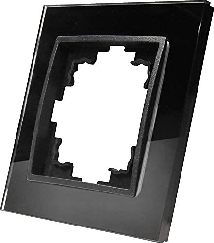 Marco de cristal de 1 compartimento – Serie GLAS antracita