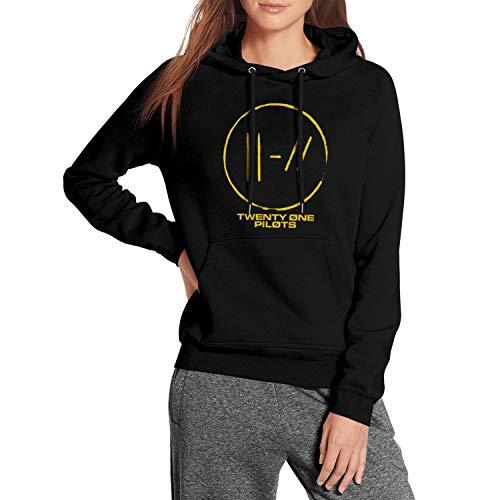 Womens Fleece Warm Sweatshirt Kangaroo Pocket Long Sleeve Novelty Pullover