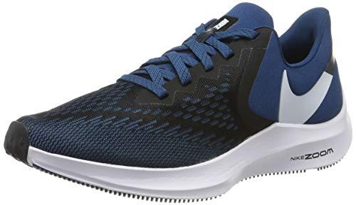Nike Men's Running Shoes, Black Black Topaz Mist Blue Force White 005, 9 UK