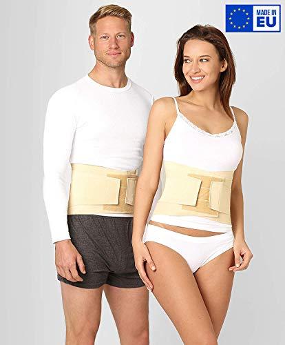 ®BeFit24 Rückenstütze Lendenwirbel für Herren und Damen - Ischias-Rückenbandage - Rückenstabilisator - Stützgürtel - Bauchgurt - Rückenstützgürtel - Back Support - [ Size 2 ]