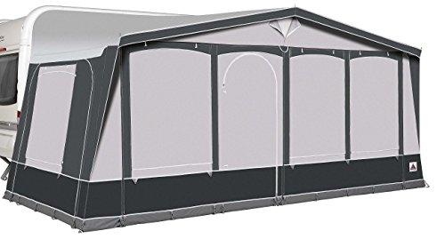 Dorema Ibiza XL270 De Luxe Reise Dauercamper Vorzelt Saisonzelt (ALU-Gestänge, 13/Umlaufmaß 950-975)