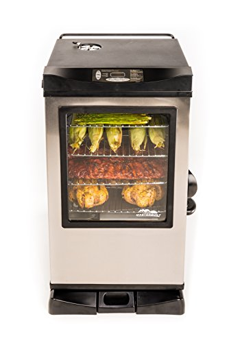 Masterbuilt 20077515 Front Controller Electric Smoker with Window and...