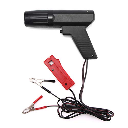 Houkiper Car Timing Light Automotive,Engine Timing Strobe Light Gun, Inductive Xenon Ignition Timing Light Tool for Car Vehicle Motorcycle, Marine