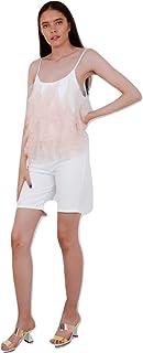 Momo&Ayat Fashions Ladies Frill Mesh Trim Cami Top AUS Size 8-14
